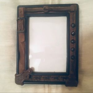 Detailed Horses and Horse Item Picture Frame